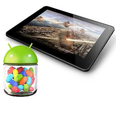 """טאבלט """"9.7 עם מערכת הפעלה 4.1 Jelly Bean כולל 3G מובנה תוצרת MAG דגם MP973G"""