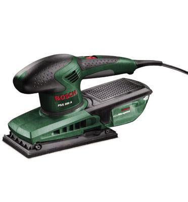 מלטשת רוטטת 200 וואט  תוצרת BOSCH דגם PSS 200 AC