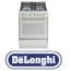 תנור אפיה משולב כיריים 4 להבות גז בגימור נירוסטה תוצרת DELONGHI דגם NDS576X