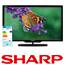 """טלוויזיה 40"""" 100Hz LED 3D ברזולוציה Full HD תוצרת SHARP דגם 40LE730"""