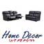 מערכת ישיבה 2+3 הדמומים נשלפים בריפוד דמוי עור PU מבית HOME DECOR דגם DIESEL