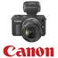 מצלמת DSLR ללא מראה עדשה 18-55mm IS STM כולל כרטיס 8GB תוצרת CANON דגם EOS M
