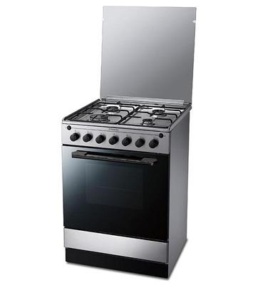 תנור אפיה משולב כיריים תא אפיה 56 ליטר תוצרת Electrolux דגם EKK61500O