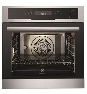 תנור אפיה בנוי מקצועי עם תוכנית אידוי ודלת סגירה רכה תוצרת Electrolux דגם EOB8711AOX