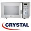 מיקרוגל דיגיטאלי כולל גריל 23 ליטר בגימור כסוף תוצרת CRYSTAL דגם MW570S