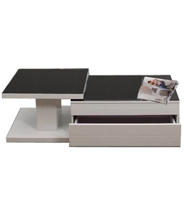 שולחן סלוני בעיצוב מיוחד מצופה צבע אפוקסי מבריק, במספר גוונים לבחירה. מבית SIRS דגם 925