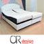 מיטה זוגית מתכווננת כוללת זוג מזרני ויסקו מבית Or-Design דגם דיאנה
