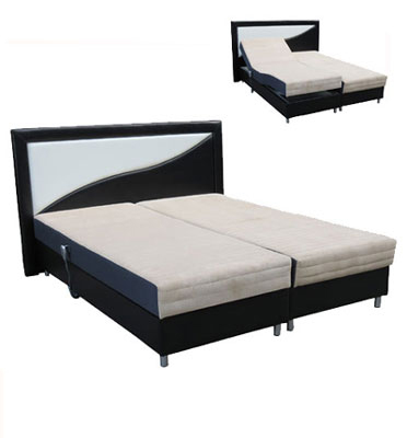 מערכת שינה מתכווננת כוללת זוג מזרני ויסקו מבית Or-design דגם סערה