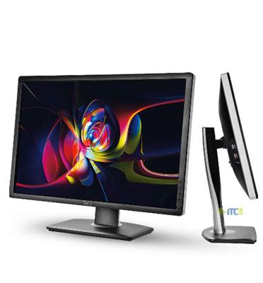 """מסך מחשב 24"""" UltraSharp 8ms LED IPS תוצרת DELL דגם U2412M"""