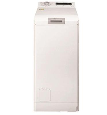 """מכונת כביסה פתח עליון 6 ק""""ג 1000 סל""""ד תוצרת Electrolux דגם EWT1067EDW"""