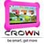 """מחשב לוח טאבלט 7"""" לילדים שההורים אוהבים עם בקרת הורים מתקדמת תוצרת CROWN דגם CR7A10-758"""