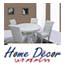 פינת אוכל עגולה,לבנה, ארבעה כסאות מרופדים מדמוי עור איכותי מבית HOME DECOR דגם עגול