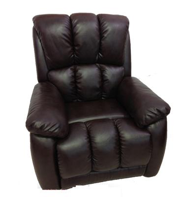 כורסת טלויזיה אורטופדית בעיצוב דמוי עור מפואר תוצרת מוצר 2000 דגם Comfort