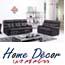 מערכת ישיבה 2+3 עם הדומים נשלפים בריפוד דמוי עור מבית HOME DECOR דגם Cavalli