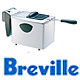 סיר טיגון חשמלי 4 ליטר נירוסטה תוצרת BREVILLE דגם DFY-80