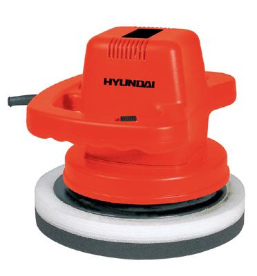 """מכונת פוליש לרכב 110W קוטר ליטוש 9.5"""" תוצרת HYUNDAI דגם HD-5081"""