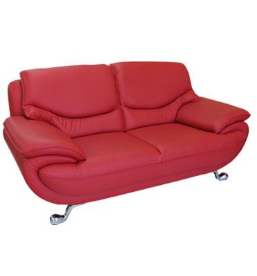 מערכת ישיבה מפנקת 3+2 מדמוי עור Top Leather משובח ויוקרתי מבית Or-Design דגם סופרנו