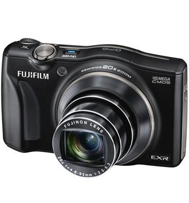 מצלמה דיגיטלית 16MP עם מסך 3 אינץ' וזום 20X כולל מתנות תוצרת FUJIFILM דגם F770EXR מתצוגה