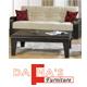 מערכת סלונית 2+3 נפתחת למיטה עם ארגזי מצעים מבית רהיטי דפנה דגם קרלה