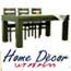 שולחן אוכל פלוס שישה כסאות עץ בוק מבית HOME DECOR דגם יורו