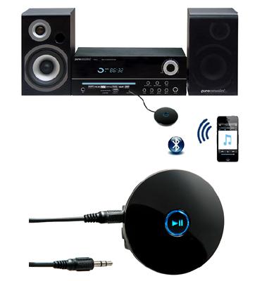 משדר Bluetooth קומפקטי נייד ונטען למערכות וסמרטפונים  תוצרת LEXUS דגם MA-781