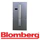 מקרר 4 דלתות בנפח 692 ליטר נטו תוצרת Blomberg. בגימור נירוסטה דגם KQD1110IN
