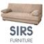 ספה איכותית בסיס עץ נפתחת למיטה עם ארגז מצעים  מבית SIRS דגם BERN