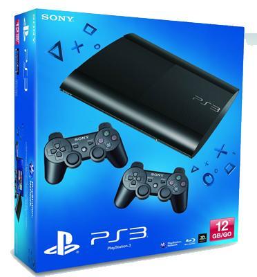 """קונסולה 12GB PS3 דגם CECH-4304A/DS3 אחריות לשנה ע""""י היבואן הרשמי+2 בקרים"""