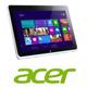 """טאבלט מסך 10"""" מעבד Intel Atom Z2760 תוצרת ACER דגם W510-27602G06ASS"""