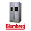 מקרר 4 דלתות 635 ליטר נטו עם מיני בר וקיוסק תוצרת Blomberg נירוסטה דגם KQD1370IN