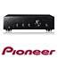 מגבר סטריאו בעוצמה של 50 וואט לערוץ ו-6 כניסות אודיו כולל פטיפון תוצרת PIONEER דגם A10K