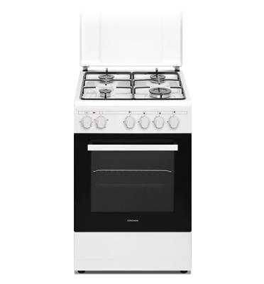"""תנור אפיה משולב כיריים ברוחב 50 ס""""מ תוצרת CROWN דגם CR50SM"""