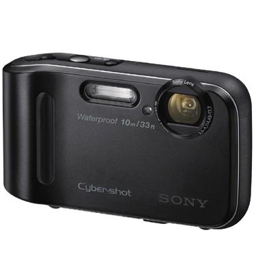 מצלמה דיגיטלית עמידה בפני מים ואבק 16.2MP זום X4 תוצרת SONY דגם DSC-TF1 תצוגה