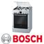 תנור אפייה משולב כיריים בגימור נירוסטה תוצרת בוש דגם HGV745359Y