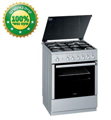 תנור אפיה רחב משולב כיריים תוצרת BELLERS דגם BLG65103