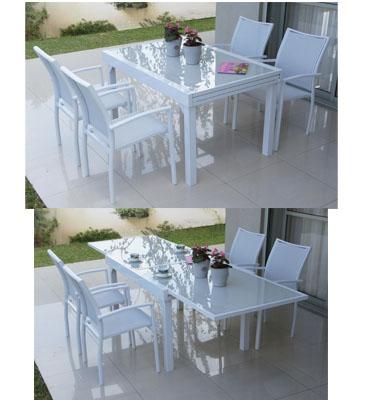 מערכת גן של שולחן וכסאות מבית SCAB דגם bondi270