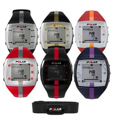 שעון דופק לשיפור הכושר POLAR דגם FT7 כולל רצועת דופק ומשדר! +מתנה!