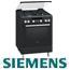 תנור אפייה משולב כיריים תא אפייה ענק 67 ליטר צבע שחור תוצרת סימנס דגם HR74W637Y