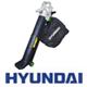 מפוח חשמלי 3 ב-1: שואב/נושף/גורס, מתאים לגינה ולדשא סינטטי 2800W מבית HYUNDAI דגם HD-6330