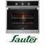 תנור אפיה בנוי תא בנפח 61 ליטר בגימור נירוסטה תוצרת Sauter. דגם SMA6700IX