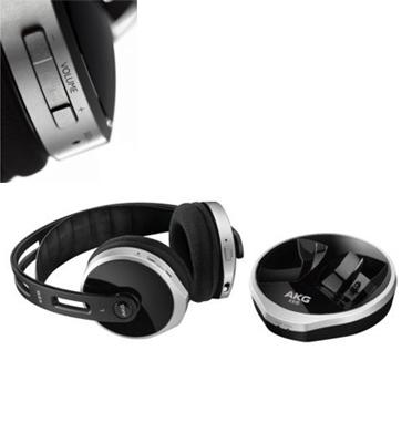 אוזניות אלחוטיות טווח של עד 30 מטר תוצרת AKG דגם K915
