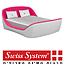 מיטה זוגית מתכווננת מבית Swiss System דגם  האח הגדול