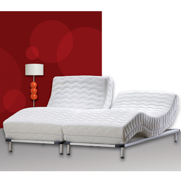 מיטה מתכווננת מבית Swiss System דגם Royal Platform