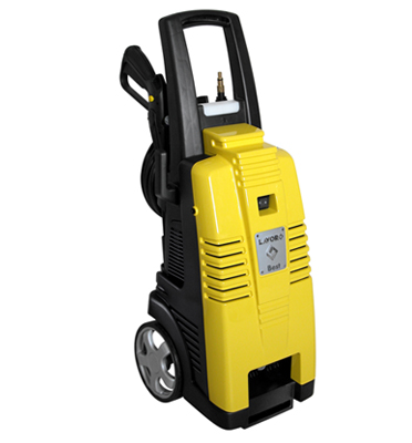מכונת שטיפה בלחץ לרכב סופק מקצועית 2800W בלחץ 160 בר מצוידת בזרנוק טורבו מבית LAVOR דגם BEST 28