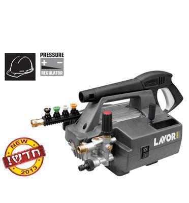 מכונת שטיפה ניידת 2200W בלחץ 130 בר מצוידת בזרנוק+דיזות מתחלפות מבית LAVOR דגם PARTNER 1210LP