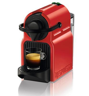 מכונת קפה Nespresso איניסייה בצבע אדום דגם C40
