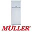 מקרר עם מקפיא עליון בנפח 374 ליטר NO FROST תוצרת MULLER דגם MLN385