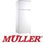 מקרר עם מקפיא עליון מפואר בנפח 263 ליטר תוצרת MULLER דגם ML285