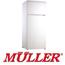 מקרר עם מקפיא עליון מפואר 345 ליטר תוצרת MULLER דגם ML395
