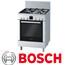 תנור אפייה משולב כיריים נפח 67 ליטר נירוסטה Splash protect תוצרת בוש דגם HGV74W456Y